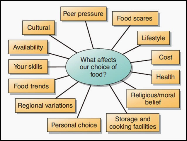 The determinants of food choice