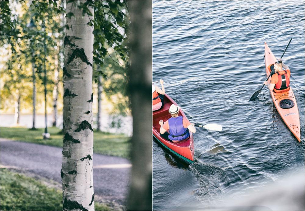 Pori, Visitpori, Rakastuporiin, Porin Kaupunki, matkailu, matkustus, Visualaddict, valokuvaaja, Frida Steiner, kotimaa, suomi, Kirjurinluoto, lenkkimaasto, lenkkipolku, melonta