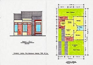 Gambar-Sketsa-Denah-Rumah-Type-45-405x286