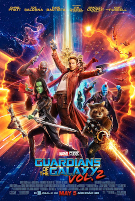 Guaridans of the Galaxy Vol. 2 Poster