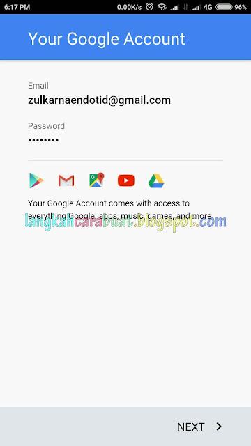 Cara Menambahkan Akun Google Di Android