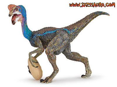 Papo Blue Oviraptor