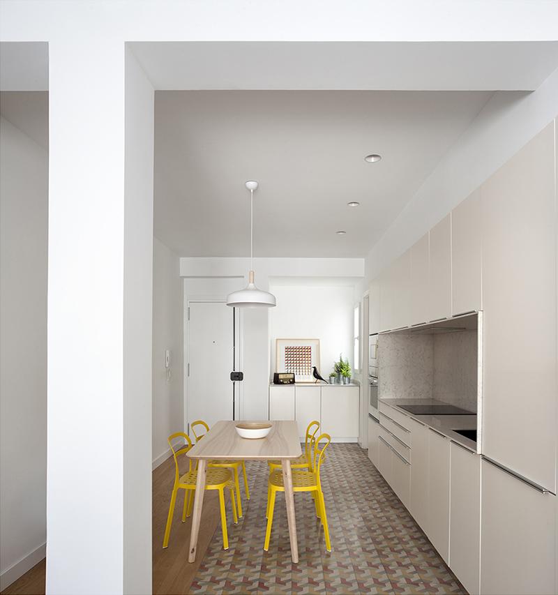Reforma integral de apartamento en valencia dg arquitecto valencia - Reforma cocinas valencia ...
