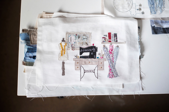 Emma's Sewing Space Tour!