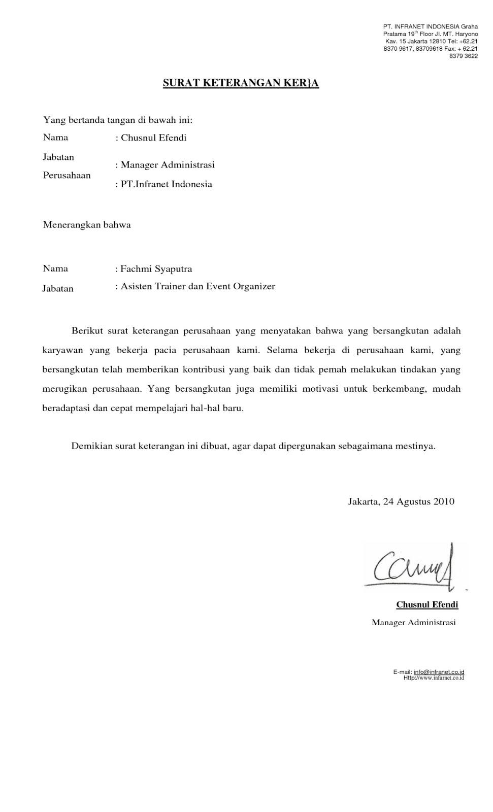 7 Contoh Surat Pernyataan dan Cara Membuatnya - Kumpulan