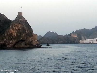 Sea trip.. Bandar Al Rawda Muscat Mutrah. Photo by Imad Hussain Baqir
