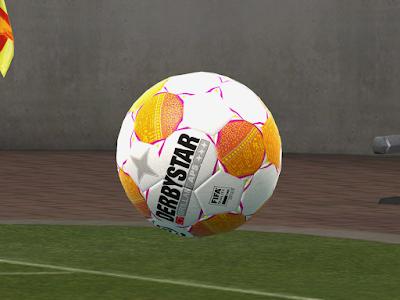 PES 2013 Balls Derbystar Eredivisie 2018/2019 by M4rcelo