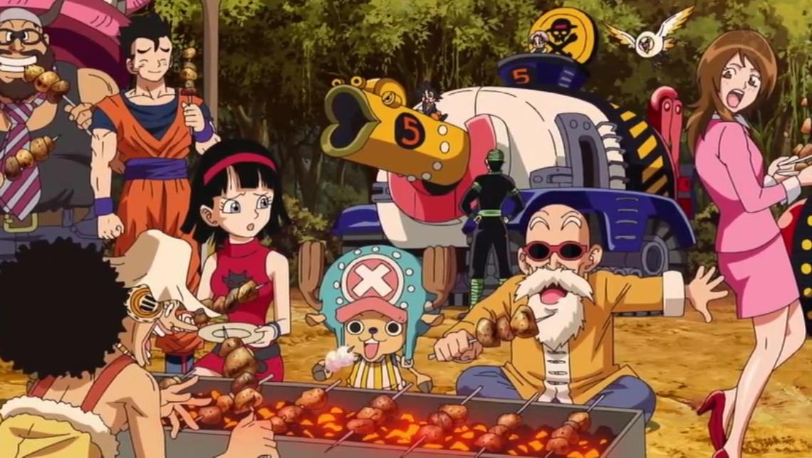 Monster Bego: Anime - Goku, Luffy, & Toriko