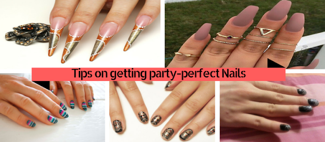 Tips on getting party-perfect Nails