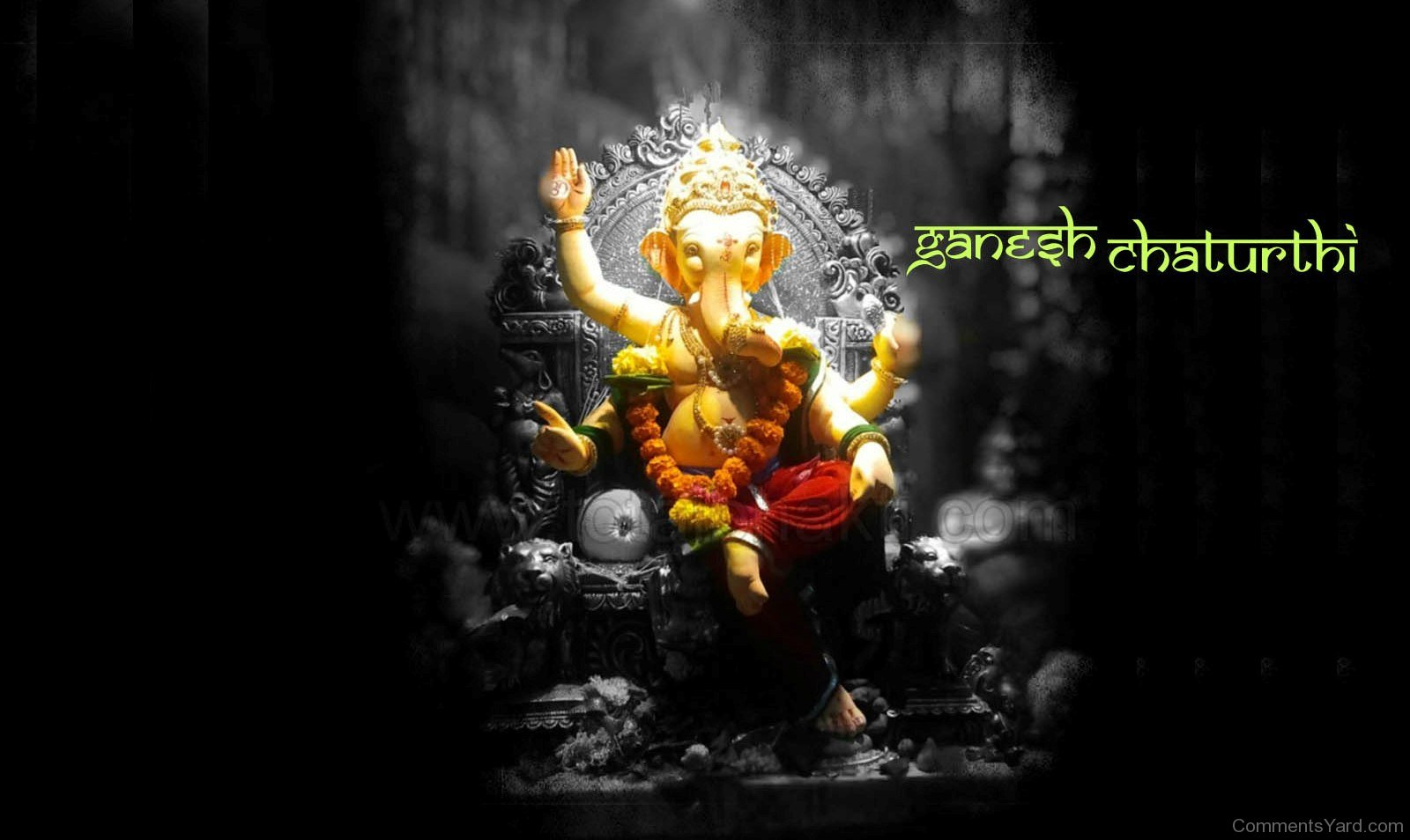 Ganesh Chaturthi Wallpaper 3D Animated Cliparts Gif ...