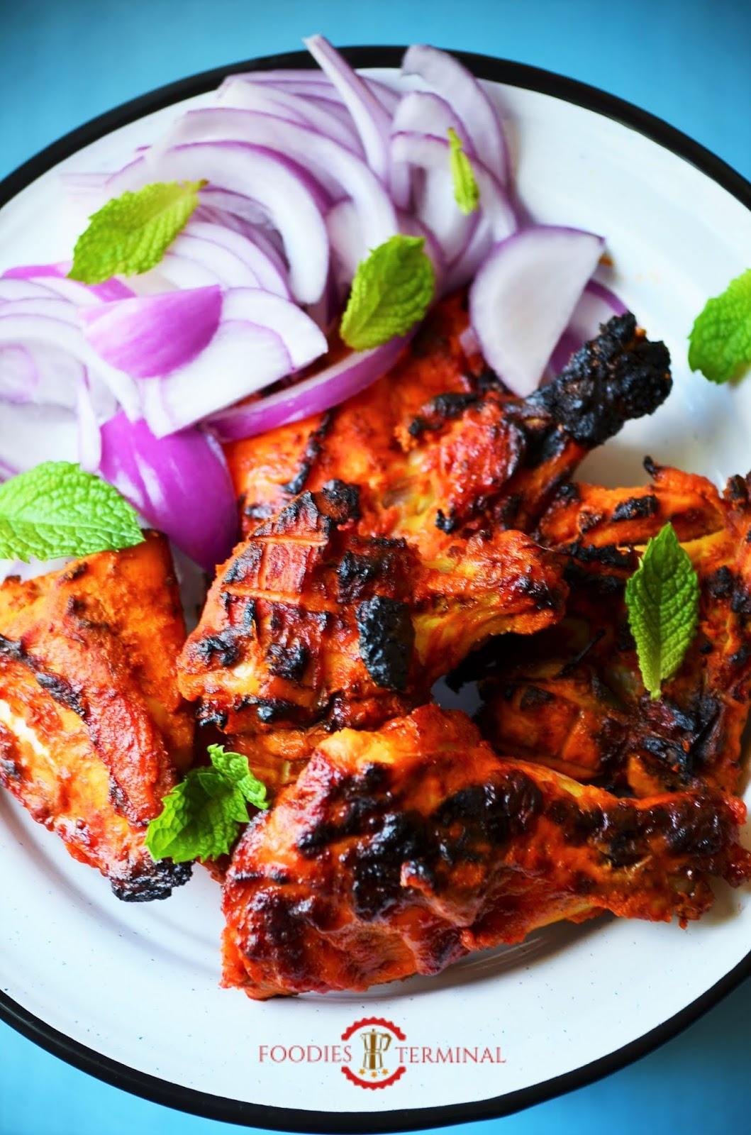 The best tandoori chicken, chicken tandoori in oven, tandoori chicken recipe, chicken tandoori recipe, tandoori chicken without a tandoor, restaurant style tandoori chicken recipe