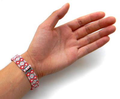 Узкий бисерный браслет интернет-магазин ру россия почтой