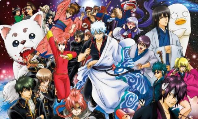 Gintama - Daftar Anime Samurai Terbaik Sepanjang Masa
