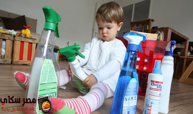 خطر المنظفات المنزلية على الجلد وماهى البدائل Household cleaners