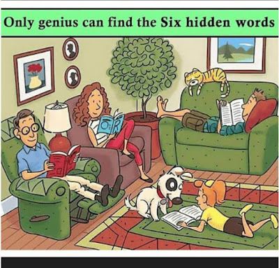 Hidden Words Picture Puzzle