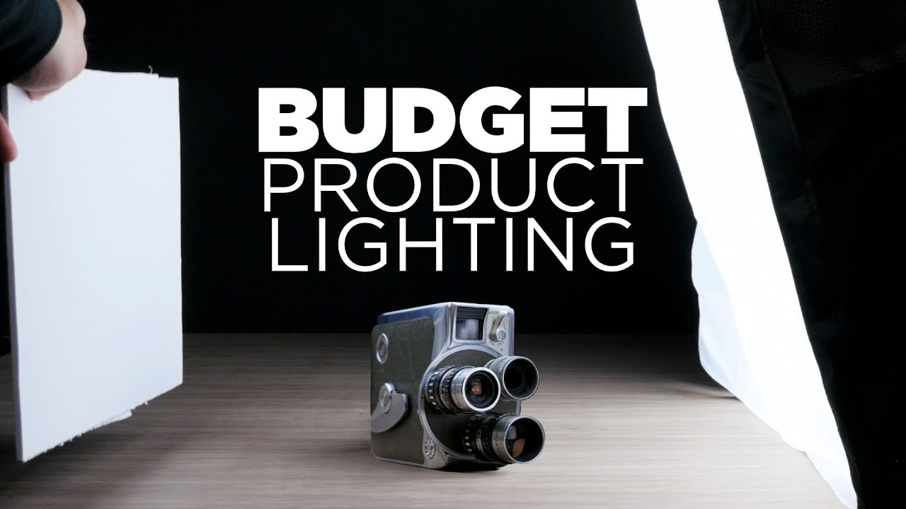 $50 Product Lighting Setup