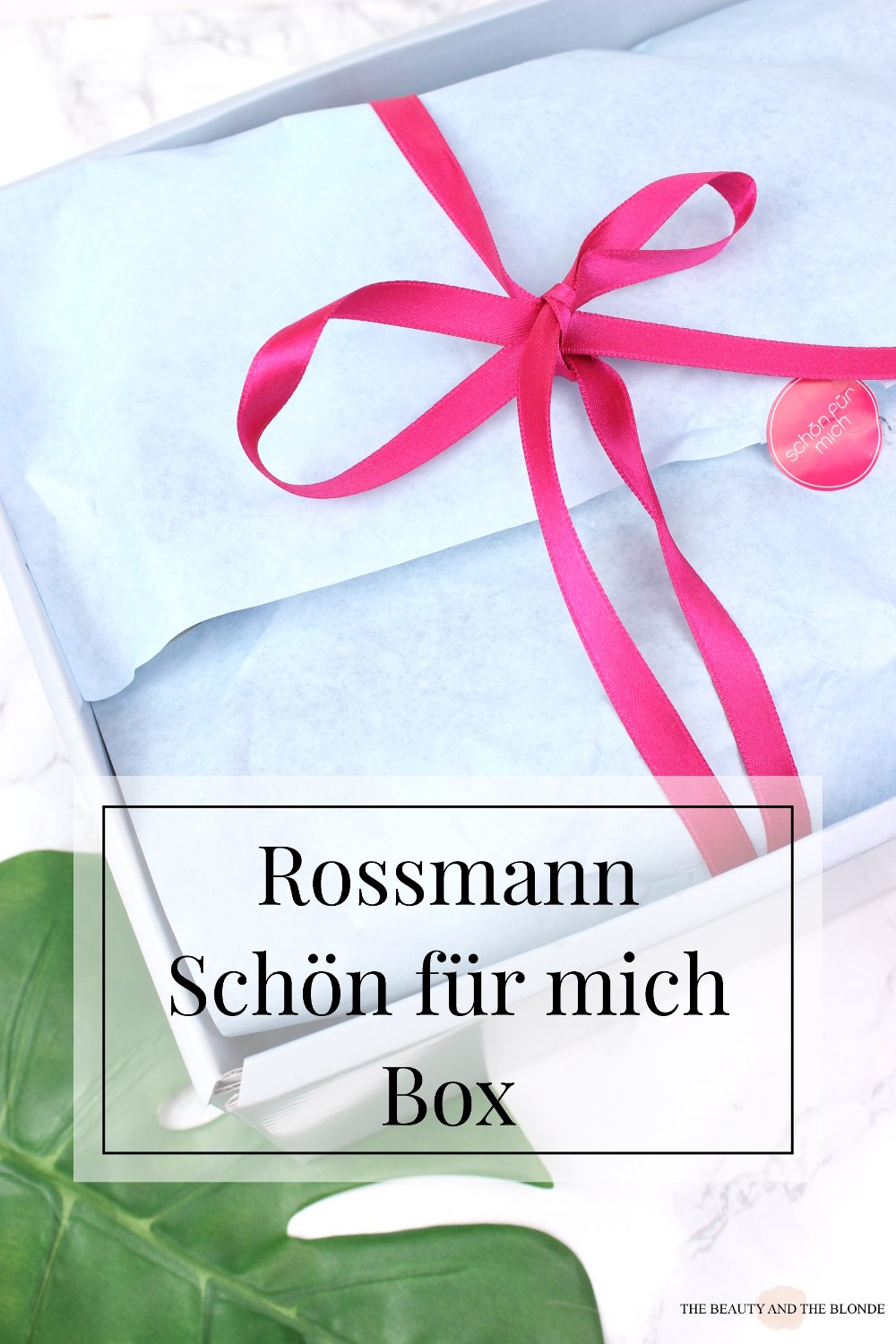 the beauty and the blonde rossmann schà n fà r mich box januar 2017