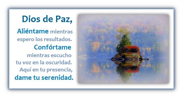 Oración de Tranquilidad y Serenidad