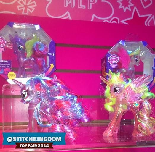 Princess Snowglobe ponies