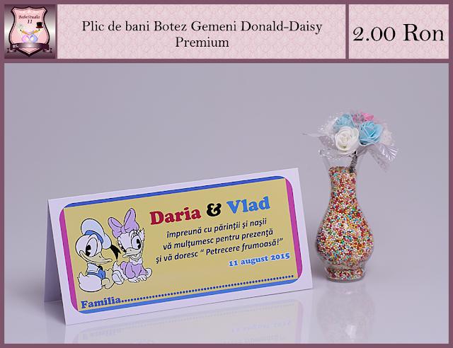 set botez gemeni donald daisy