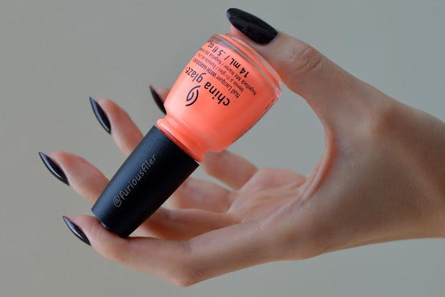 hand pose long fingers black holographic polish furious filer