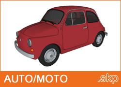 Auto e moto Sketchup