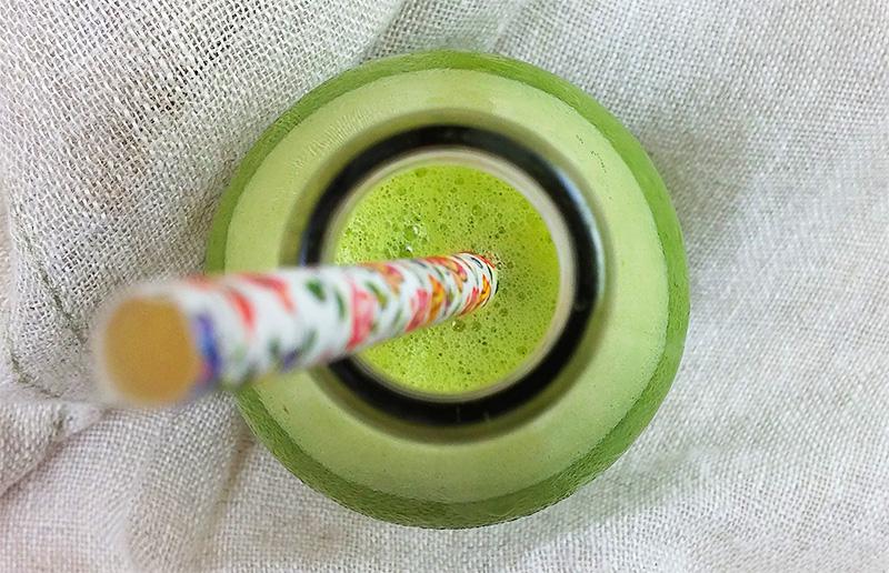 Suco verdinho pra deixar a vida mais equilibrada!