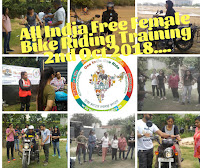 All India Free Female Bike Riding Training Multiple City