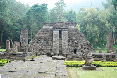 Candi sukuh, ancient pyramid in indonesia