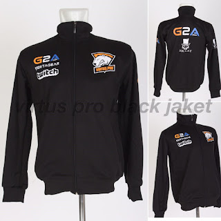Jacket Gaming - Jaket Virtus Pro Black