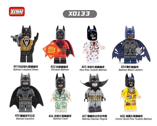XINH Minifig Set List Database