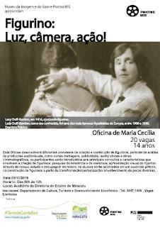 """Departamento Municipal de Cultura traz para Miracatu Oficina """"Figurino: Luz, Câmera, Ação!"""" Pelo Pontos Mis"""
