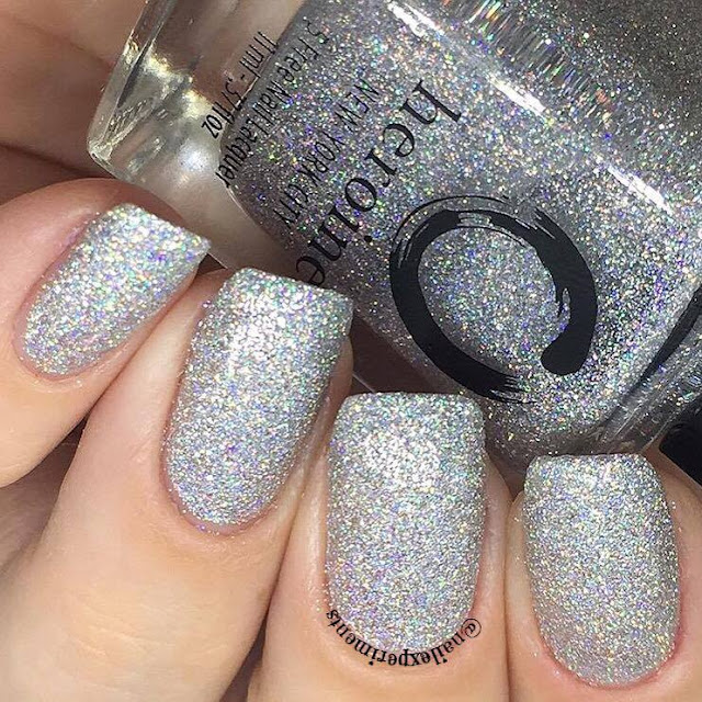 Heroine new york city polish in watch me sparkle