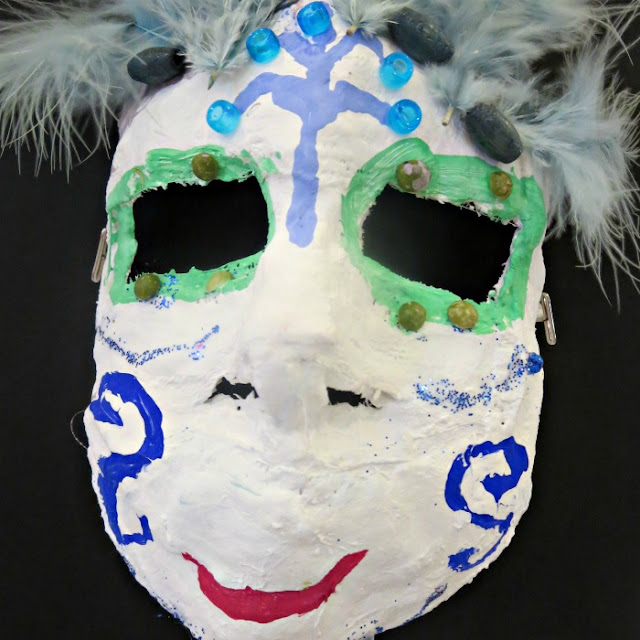 4th Grade Art Project - Masks