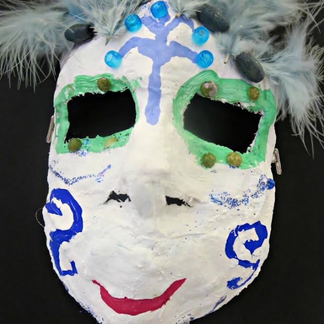 4th Grade Art Project - Masks