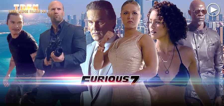 Faceți cunoștință cu personajele noi din Furious 7
