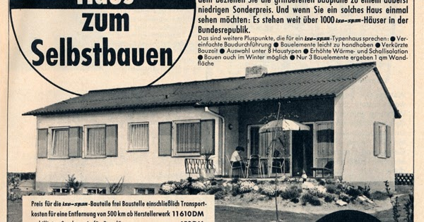 vongestern blog vorgefertigtes haus zum selberbauen 1964. Black Bedroom Furniture Sets. Home Design Ideas