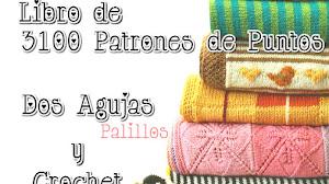 Los mejores 3100 Patrones de Motivos Dos Agujas y Crochet de regalo