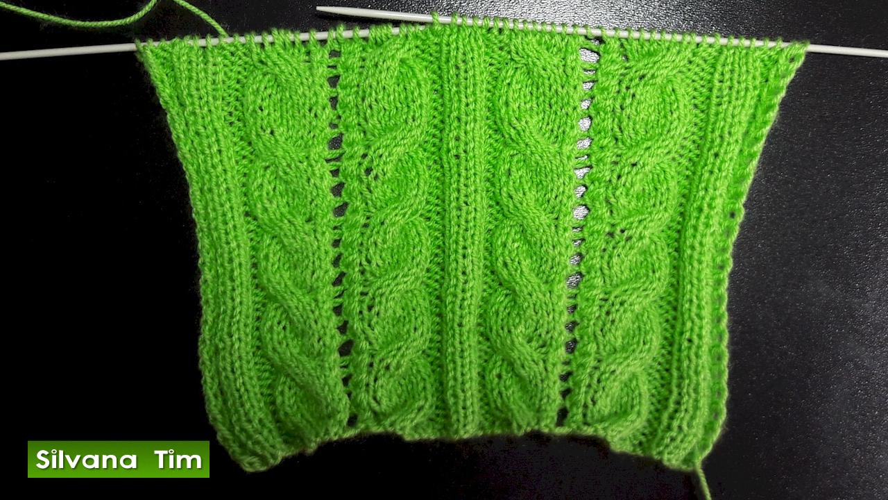 Silvana tim tejido con dos agujas puntos patrones de tejido tejido con dos agujas punto - Puntos para tejer con dos agujas ...