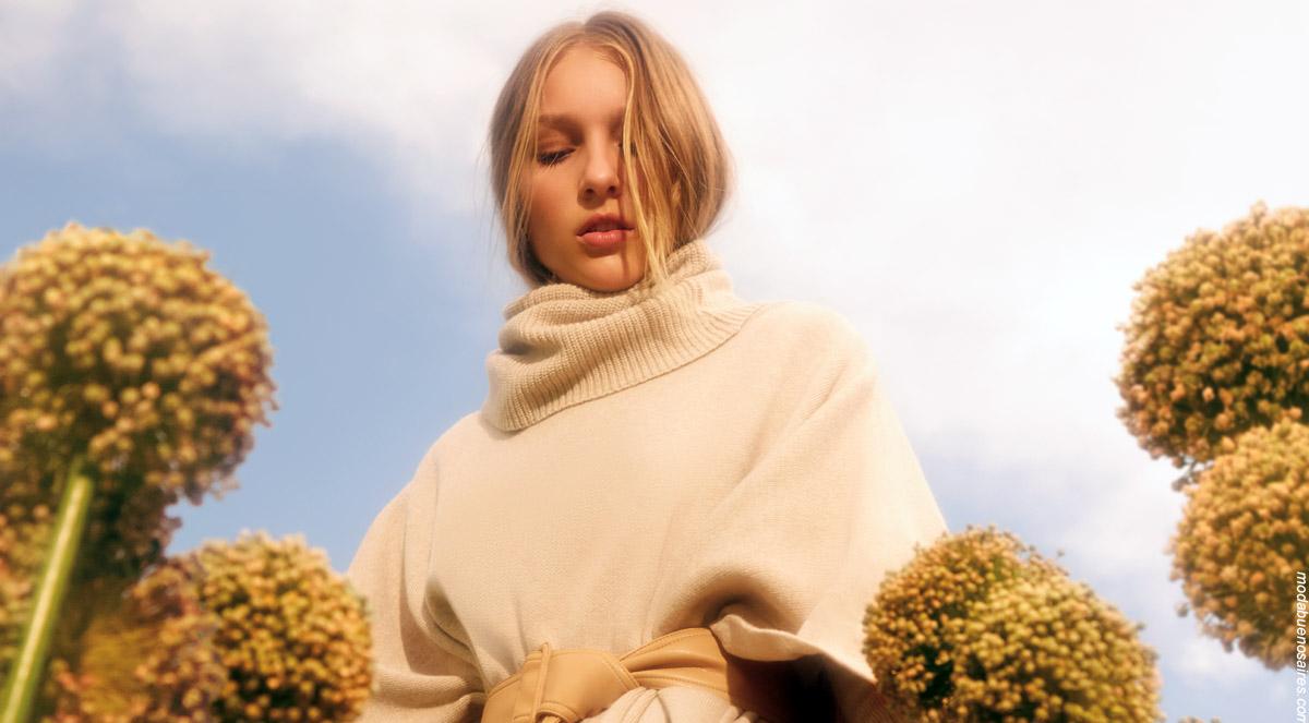 Polerones invierno 2019 moda mujer. Moda invierno 2019.