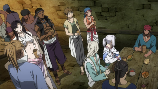 Arslan Senki (TV): Fuujin Ranbu Episode 5 Subtitle Indonesia