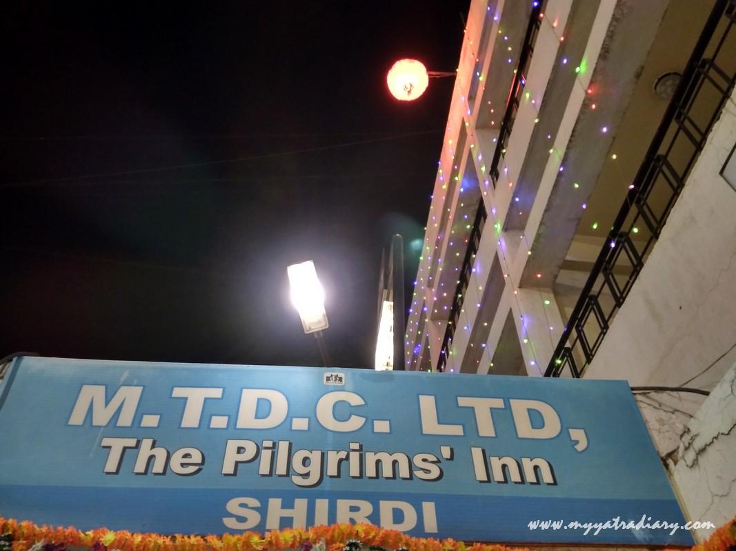 Shirdi Yatra: Where to Stay in Shirdi? (MTDC's The Pilgrims' Inn)