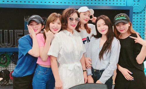 Sungjoyfamily: 180816 Choi Hwa Jung's Power Time Radio - Red Velvet
