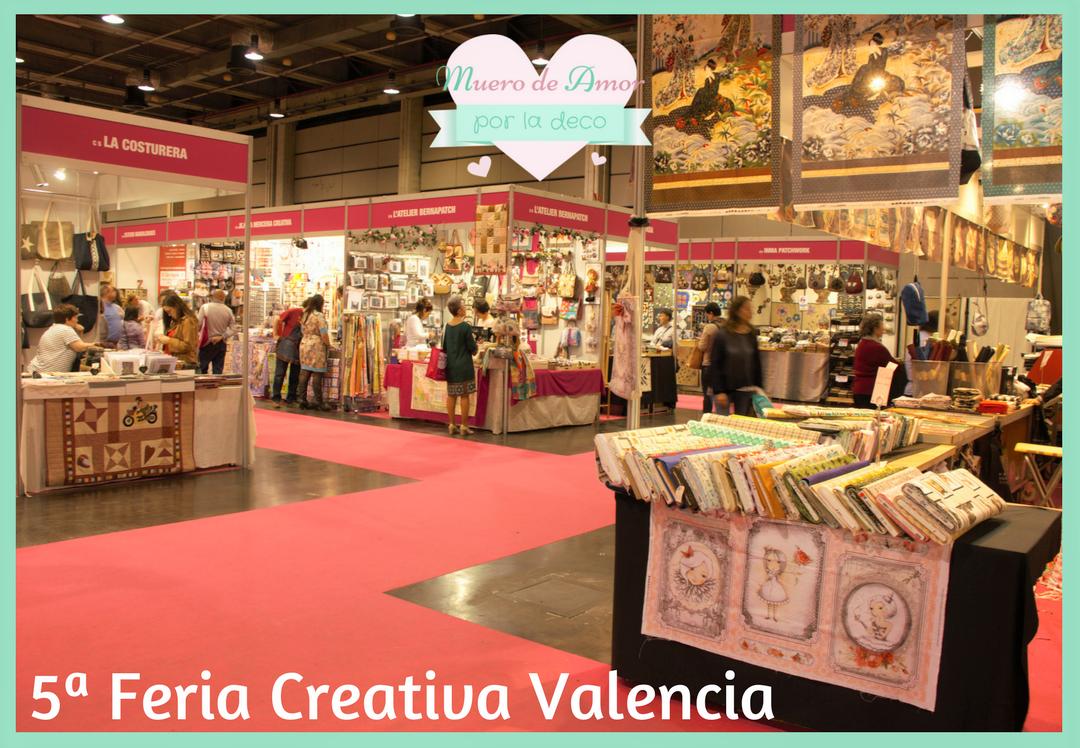 Todo Lo Que Podr S Encontrar En La Feria Valencia Creativa ~ Cursos De Manualidades En Valencia
