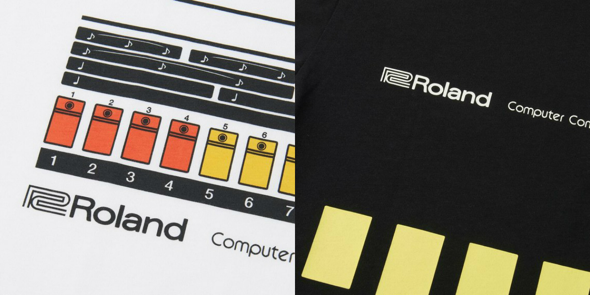 Roland x UNIQLO TR-808 T-Shirts | Drum Computer Liebe in Fashion und Doku
