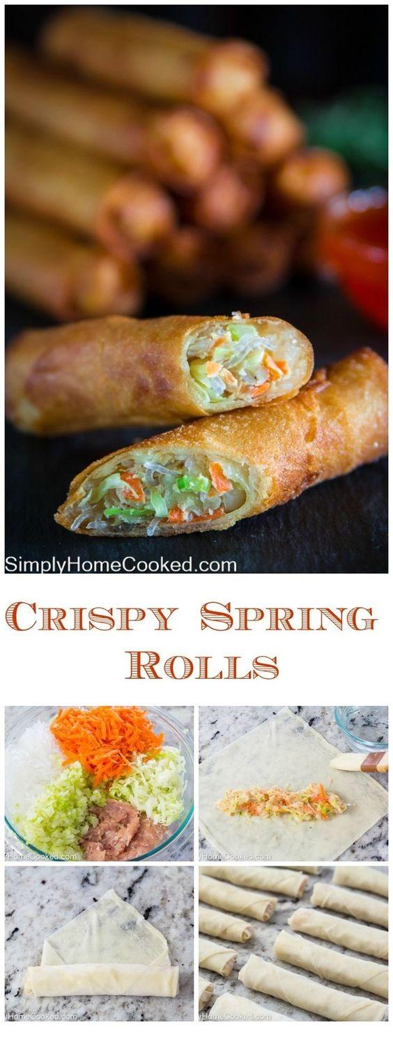 Fried Spring Roll Recipe