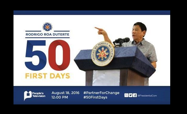 PCO to launch the #50FirstDays documentary of Pres. Rody