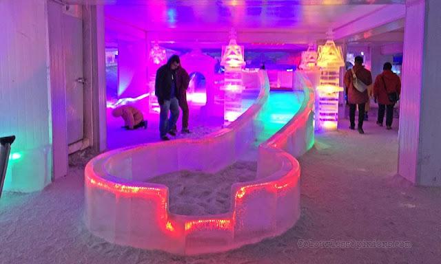 i-city snowalk ice slide