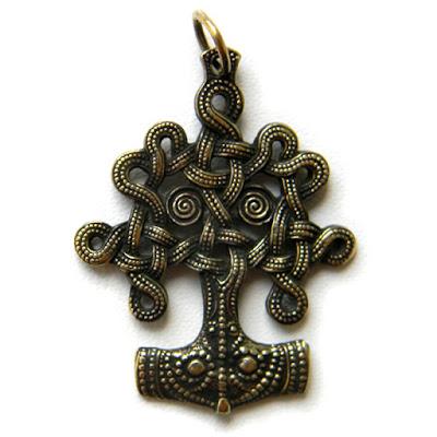 купить кулон дерево жизни иггдрасиль талисман из латуни на шею скандинавские украшения ру