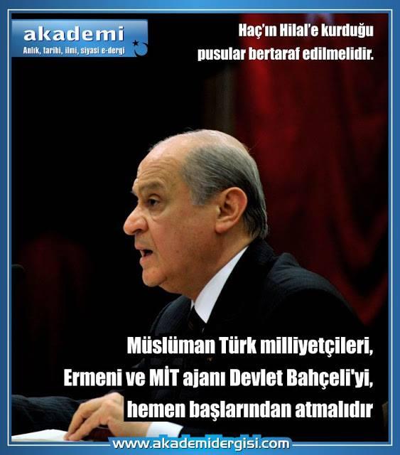 devlet bahçeli, Ermeni Sorunu, içimizdeki ermenistan, kripto Ermeniler, masonluk, mhp milliyetçi hareket partisi, pakraduniler,